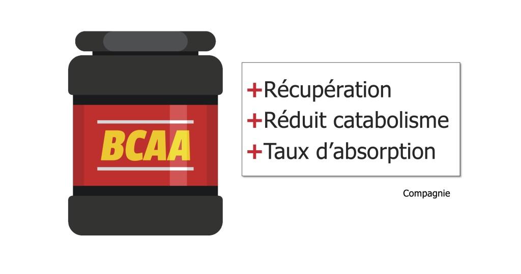 Affirmations courantes des compagnies concernant les suppléments de BCAA